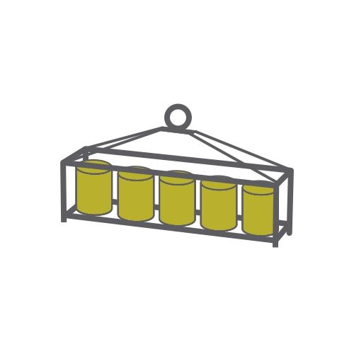 Orbit Art Glassware Diyas Home Table/Hanging